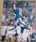 Mark Bavaro Phil McConkey signed 16x20 photo Giants Super Bowl 21 XXI JSA auto
