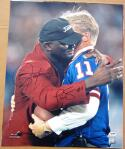 Lawrence Taylor Phil Simms signed 16x20 photo Giants Legends PSA/DNA auto