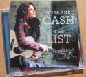 Rosanne Cash signed CD Cover The List auto Johnny Cash Daughter