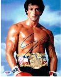 Sylvester Stallone Rocky signed 8x10 photo PSA/DNA auto autograph
