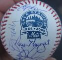 1986 Mets team signed MLB Shea Baseball Ball 26 Auto Beckett BAS Gary Carter