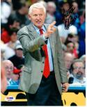 Lute Olson Basketball HOF signed 8x10 Photo PSA/DNA Arizona Wildcats Coach