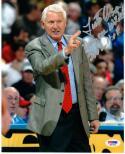 Lute Olson Basketball HOF signed 8x10 Photo PSA/DNA Arizona Wildcats Coach w/insc