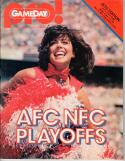 New York Jets vs Buffalo Bills AFC Playoff Game December 27, 1981 Program