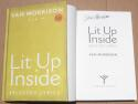 Van Morrison signed book Lit Up Inside Selected Lyrics Beckett BAS Authentic