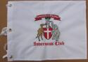Inverness Golf Club Embroidered Golf Pin Flag PGA + US Open Course