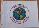 Firestone Golf Club Embroidered Golf Pin Flag PGA Championship Course Jack Nicklaus win