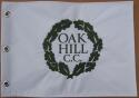 Oak Hill Golf Club Embroidered Golf Pin Flag PGA + US Open Course Jack Nicklaus Win