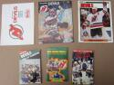 Lot of 6 New Jersey Devils Publications 1982 1st Year Yearbook 1st Edition Program ++