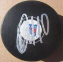 Artemi Panarin signed Rangers Hockey Puck Beckett BAS Authentic auto