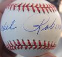 Rachel Robinson single signed 1997 Jackie Robinson 50th Anniv Baseball Ball  PSA/DNA