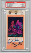 Jake Scott signed Super Bowl VII 7 Ticket Stub Dolphins PSA/DNA Slabbed MVP auto Perfect Season