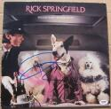 Rick Springfield signed LP Album Cover Success Hasn't Spoiled Me Yet PSA/DNA auto