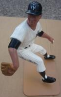 Whitey Ford Yankees signed Hartland Statue with Box Beckett BAS Auto