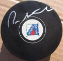 Pete Stemkowski signed Rangers Hockey Puck PSA/DNA auto