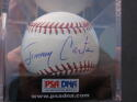 President Jimmy Carter Single Signed Baseball Ball PSA/DNA 9.0 39th