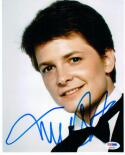 Michael J. Fox signed 8x10 photo PSA/DNA autographed Back to the Future