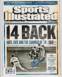 Bucky Dent Yankees signed 2018 Sports Illustrated SI Magazine Beckett BAS auto