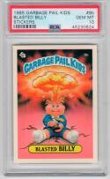 1985 Topps Garbage Pail Kids 8b Blasted Billy PSA 10 Adam Bomb Twin RARE