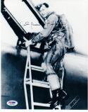 James Kasler 3x Air Force Cross Pilot WWII Korea Vietnam signed 8x10 photo PSA/DNA auto