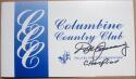 Don January signed Columbine Country Club Scorecard PSA/DNA 1967 PGA Champ auto