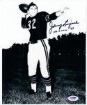 Johnny Lujack Notre Dame 1947 Heisman Winner signed 8x10 photo PSA/DNA auto