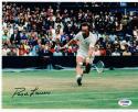 Rod Laver Tennis signed 8x10 photo PSA/DNA Grand Slam Winner auto