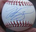 Mike Piazza Mets Dodgers single signed MLB Baseball Ball JSA COA auto