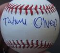 Tatum O'Neal Single Signed MLB Baseball Ball PSA/DNA Bad News Bears inscription