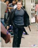 Matt Damon signed 8x10 photo PSA/DNA autograph Jason Bourne auto
