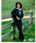 Loretta Lynn Country Legend Coal Miner's Daughter signed 8x10 photo PSA/DNA auto