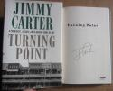 Jimmy Carter US President signed book Turning Point PSA/DNA auto