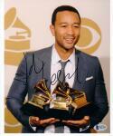 John Legend signed 8x10 photo Beckett BAS auto 11x Grammy Winner