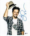 Jason Mraz signed 8x10 photo Beckett BAS auto 2x Grammy Winner