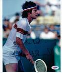 John McEnroe Tennis signed 8x10 photo PSA/DNA Wimbledon US Open Champion auto