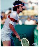 John McEnroe Tennis signed 8x10 photo Beckett BAS Wimbledon US Open Champion auto