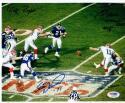Scott Norwood Roger Brown 2x signed Super Bowl XXV 8x10 photo PSA/DNA Wide Right auto