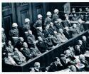 John Dolibois Ben Ferencz WWII Nuremberg Trials signed 8x10 photo PSA/DNA auto