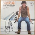 Bruce Springsteen signed Cover Me LP Album Cover BAS Beckett auto