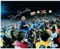 Bill Parcells Giants HOF Coach signed 8x10 Photo PSA/DNA auto Super Bowl Champs
