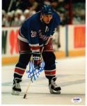 Jeff Beukeboom Rangers signed 8x10 Photo PSA/DNA auto