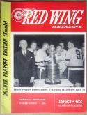 1963 Maple Leafs Red Wings Stanley Cup Finals Program Game 3 April 14, 1963