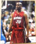 Gary Payton Miami Heat HOF signed 8x10 photo PSA/DNA autographed