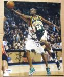 Gary Payton Seattle Supersonics HOF signed 8x10 photo PSA/DNA autographed