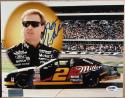 Rusty Wallace NASCAR signed 8x10 photo Miller Paint Scheme PSA/DNA autographed