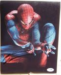 Andrew Garfield Spiderman signed 8x10 photo PSA/DNA autograph