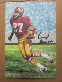 Kenny Houston signed Goal Line Art Postcard PSA/DNA Enshrinee Proof Card