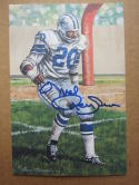 Mel Renfro Cowboys signed Goal Line Art Postcard PSA/DNA auto