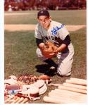 Yogi Berra Yankees signed 8x10 photo BAS Beckett Authentic