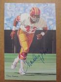 Charley Taylor Redskins signed Goal Line Art Postcard PSA/DNA auto